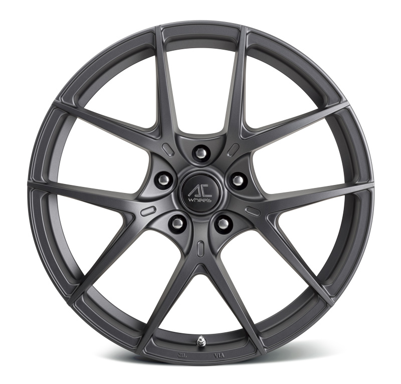 "NEW 19"" AC SUPREMO ALLOY WHEELS IN MATT GUNMETAL, WIDER 9.5"" REARS"